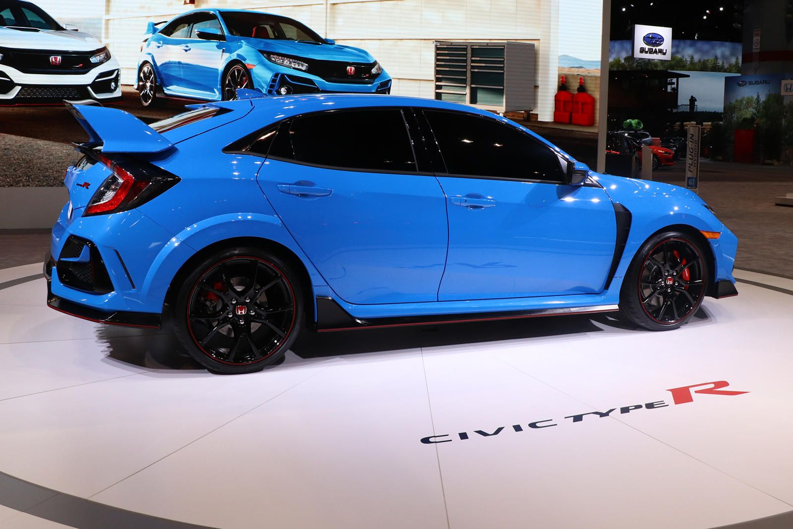 2020 Honda Civic Type R Arrives In Chicago With Outrageous