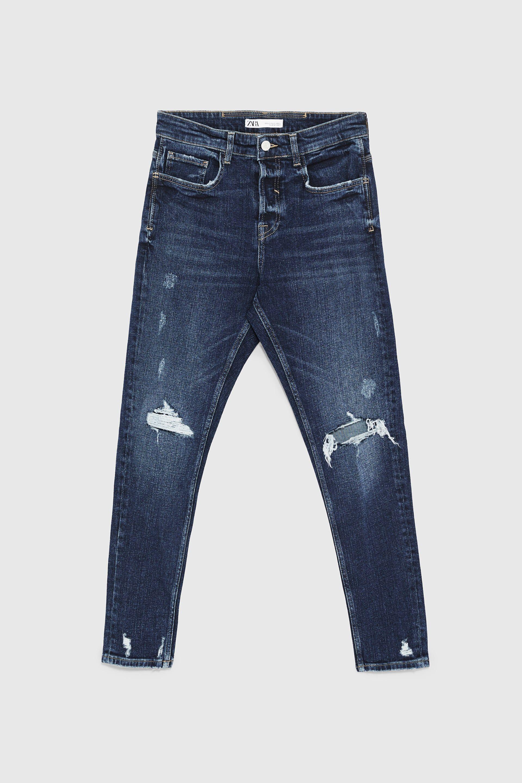 الأربعاء غريب الأطوار الفقر المدقع Zara Super Skinny Ripped Jeans Dsvdedommel Com