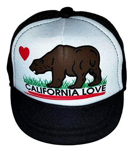 California Love Baby Infant Blank Mesh Trucker Hat Cap Newborn Snapback 85b4078983f