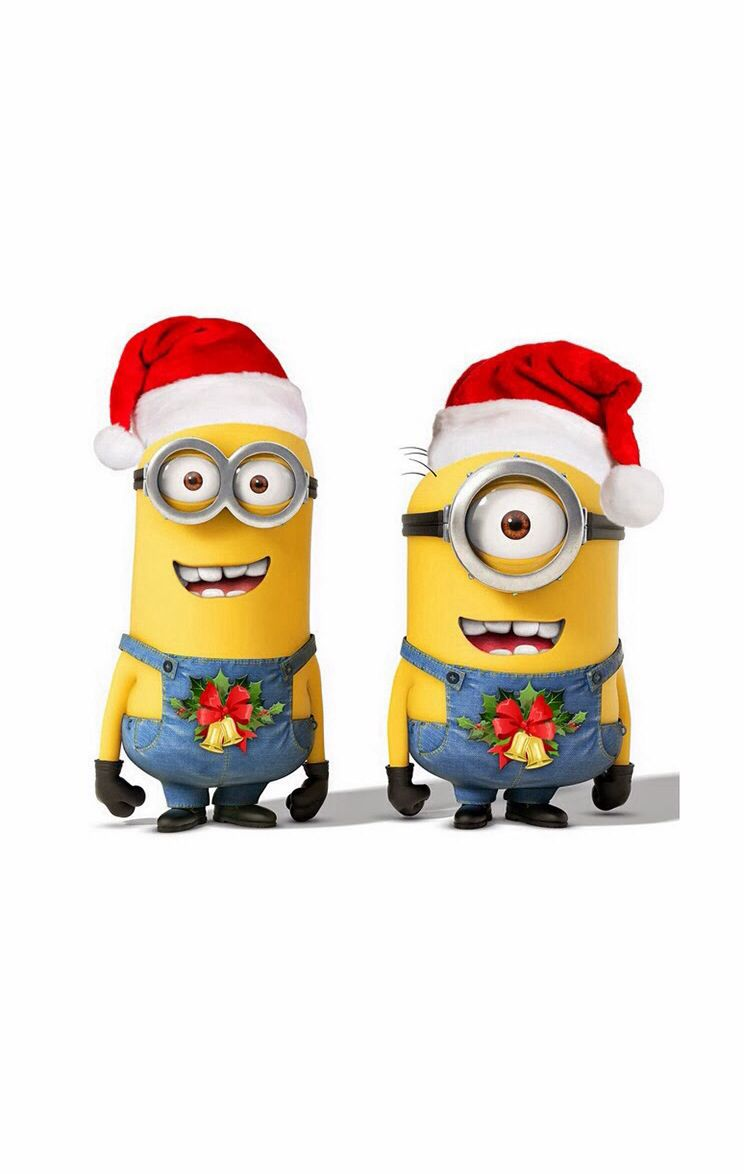 Christmas minions   Despicable Me Goodness   Pinterest