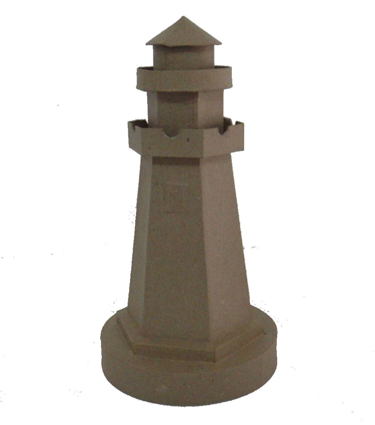 paper mache lighthouse makes a picturesque decorative piece 100 handmade recycled paper size mache supplieshouse