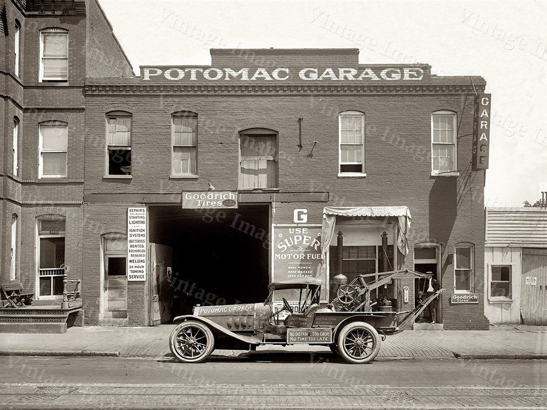 old auto shop pictures | Antique Automotive Repair Shop Garage ...