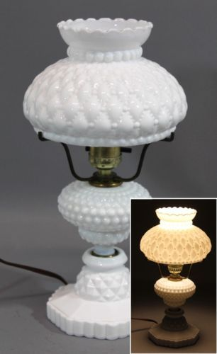 13in Tall Vintage Hobnail Milk Glass Lamp & Shade Working Condition No Reserve https://t.co/9IAdaOwTrC https://t.co/9ariQL6Tuj
