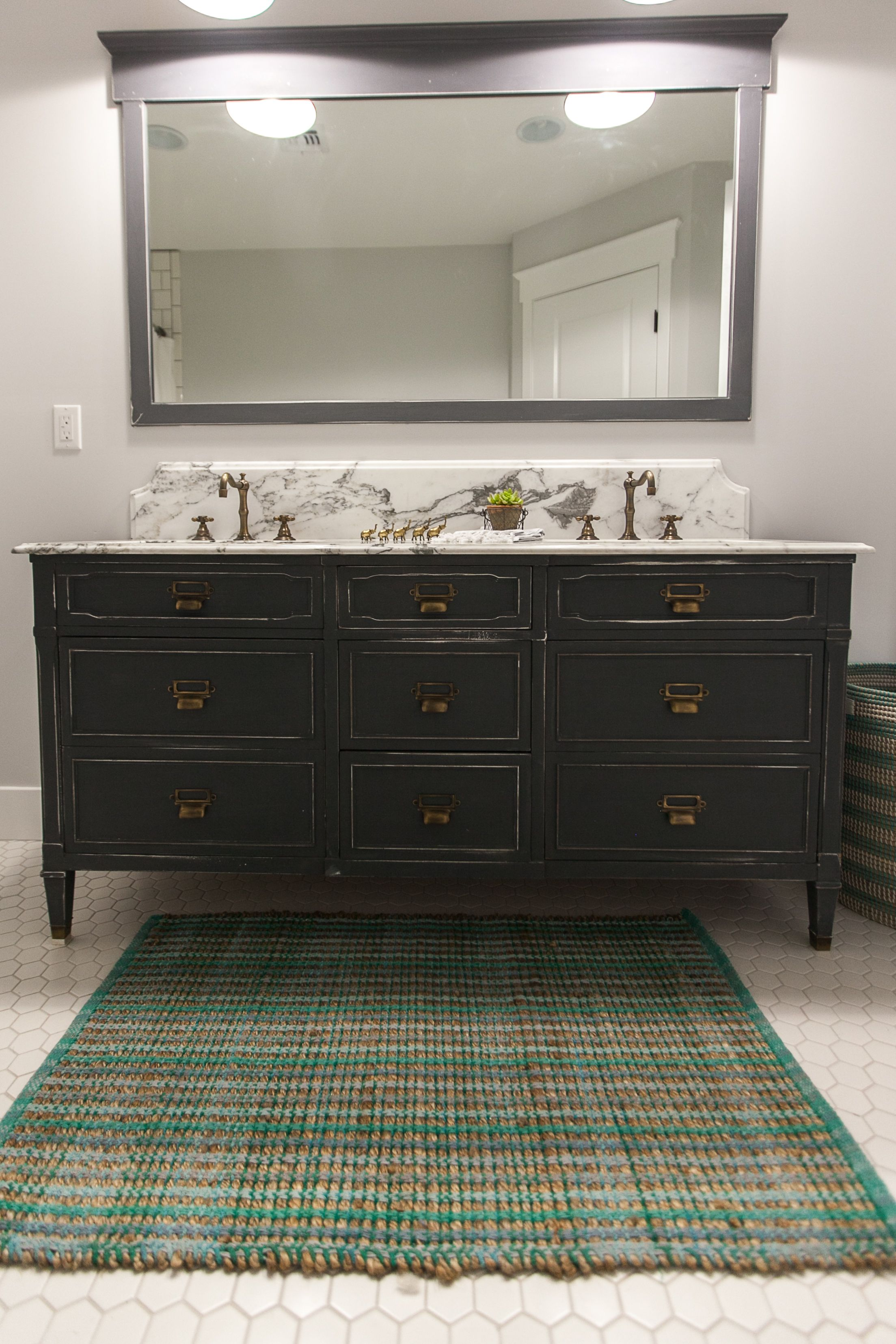 Admirable Dresser Repurposed As Bath Vanity Hardware By House Of Home Interior And Landscaping Analalmasignezvosmurscom