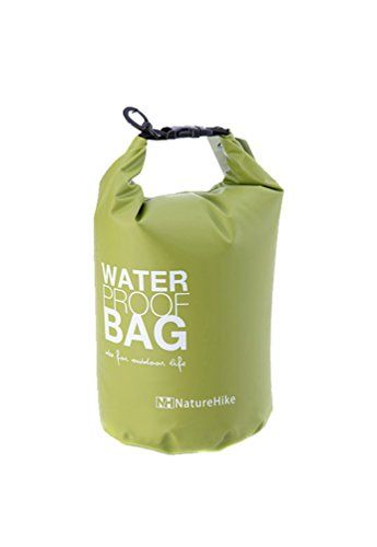 2L Ultralight Portable Outdoor Travel Rafting Waterproof Dry Bag Swim Storage Green Equipment ** Click on the image for additional details.(This is an Amazon affiliate link and I receive a commission for the sales)