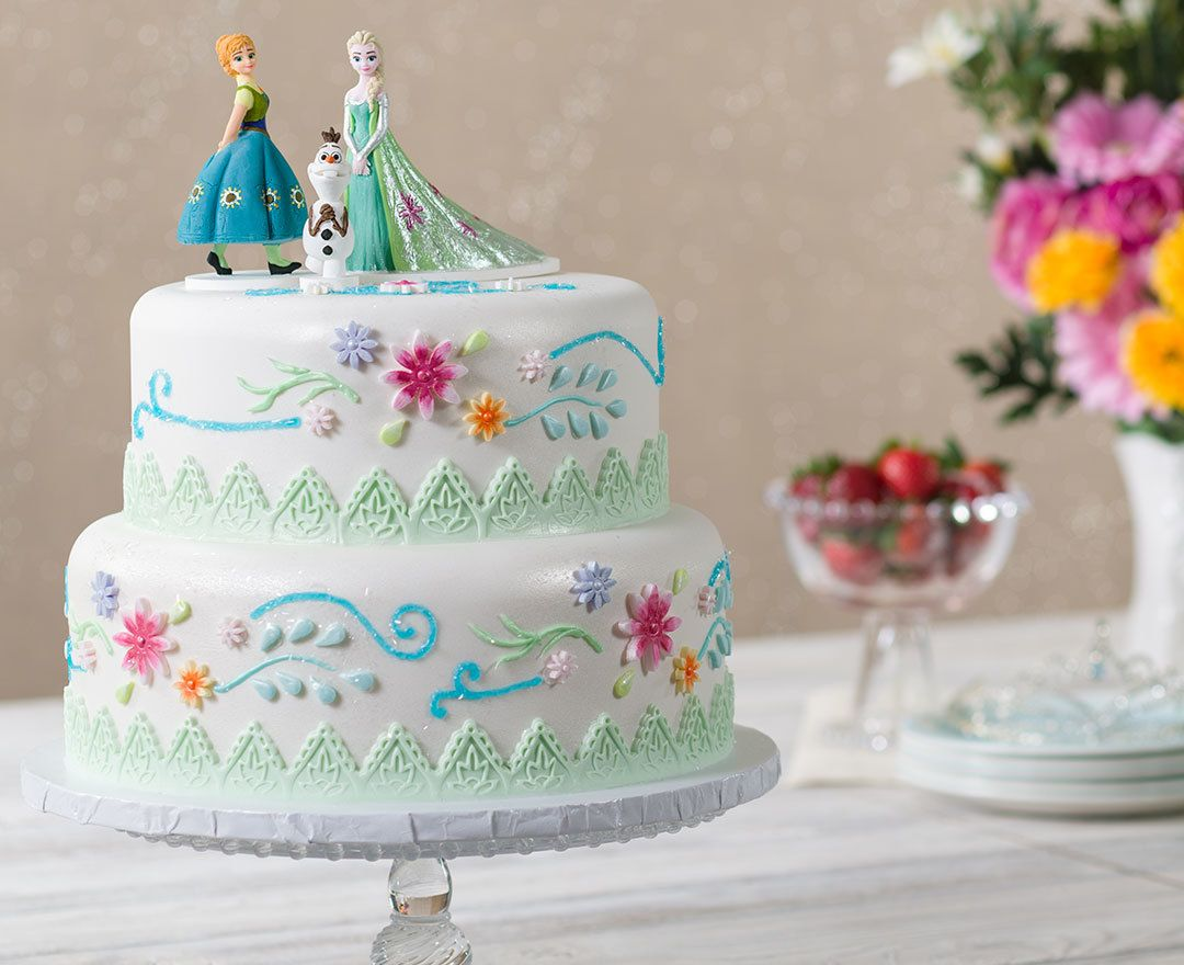 Order a Cake from a Local Bakery Sugar paste Olaf and Birthdays