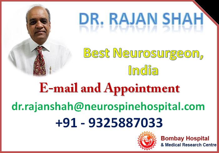 Dr  Rajan Shah, Best Neurosurgeon at Nanavati Hospital, Mumbai