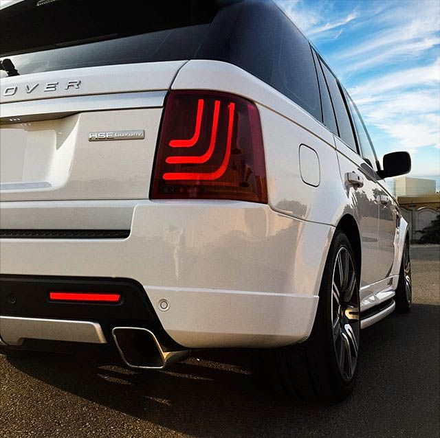 The badge says luxury, so why not go the full way?  #glohh #rangeroversport #rangerover #rrs #landrover #led #taillights