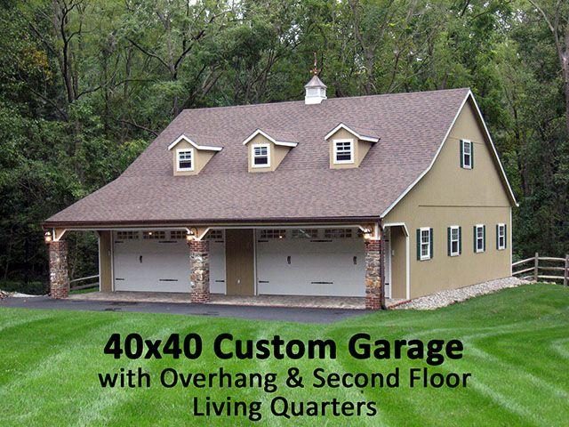 40x40garagejpg 640 480 Floor Plans Pinterest – 40X40 Garage Plans