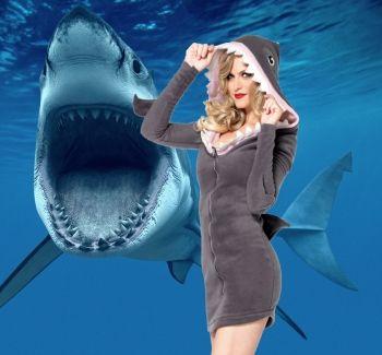 Cozy Shark Dress