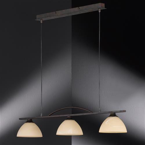 Classica Pendelleuchte Rostfarbig Antik 3 Flg Pendelleuchte Beleuchtung Kuche Beleuchtungsideen