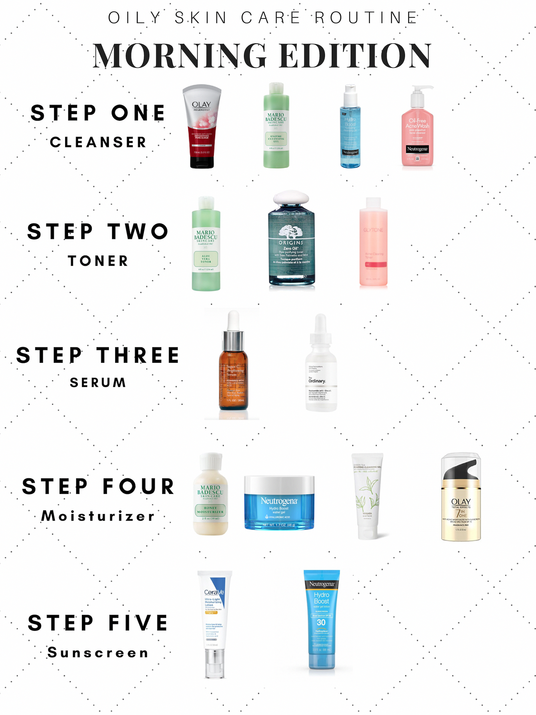 Good Skin Care Products Best Daily Skin Care Routine Best Skin Care Regimen For Late 20s 20190925 L In 2020 Skin Care Guide Oily Skin Care Skin Care Routine Steps