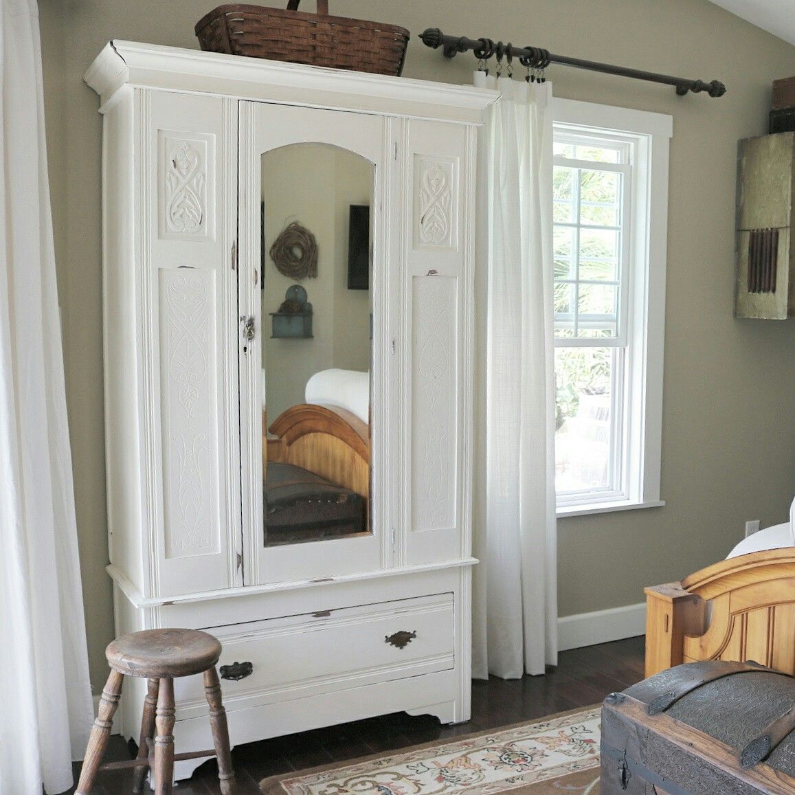Farmhouse - Antique Cupboard at home on SweetCreek