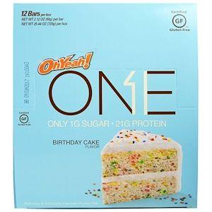 Oh Yeah One Bar Birthday Cake 12 Bars 212 Oz 60 G Each