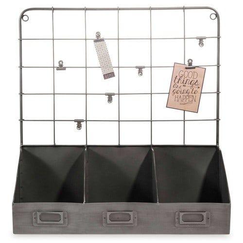 Porte-courrier en métal BARKY BLACK BB Mezzanine Pinterest