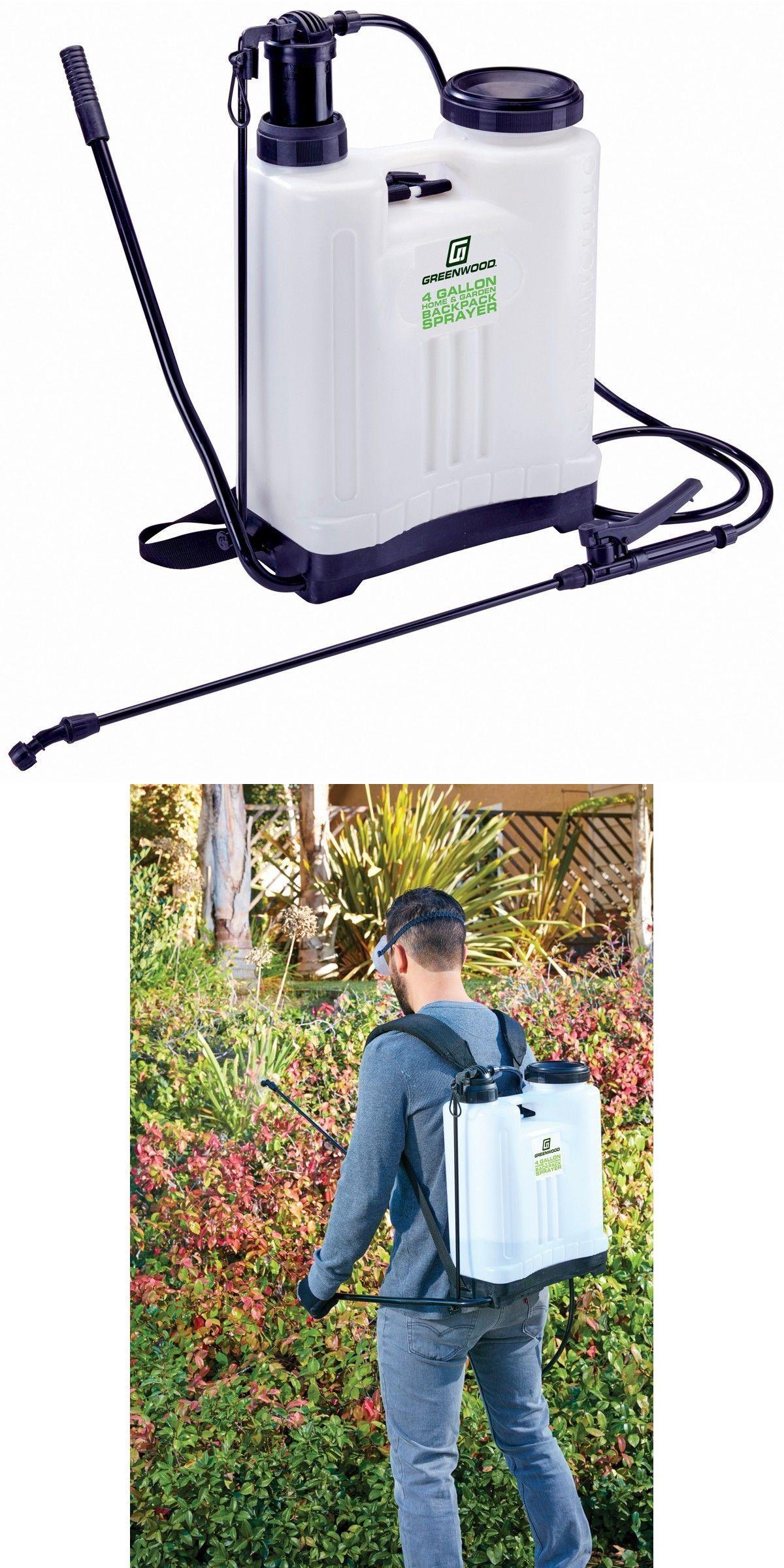 Garden Sprayers 178984: Backpack Garden Sprayer 4 Gallon Pesticide Fertilizer 4 Nozzles Weed Control -> BUY IT NOW ONLY: $39.97 on eBay!