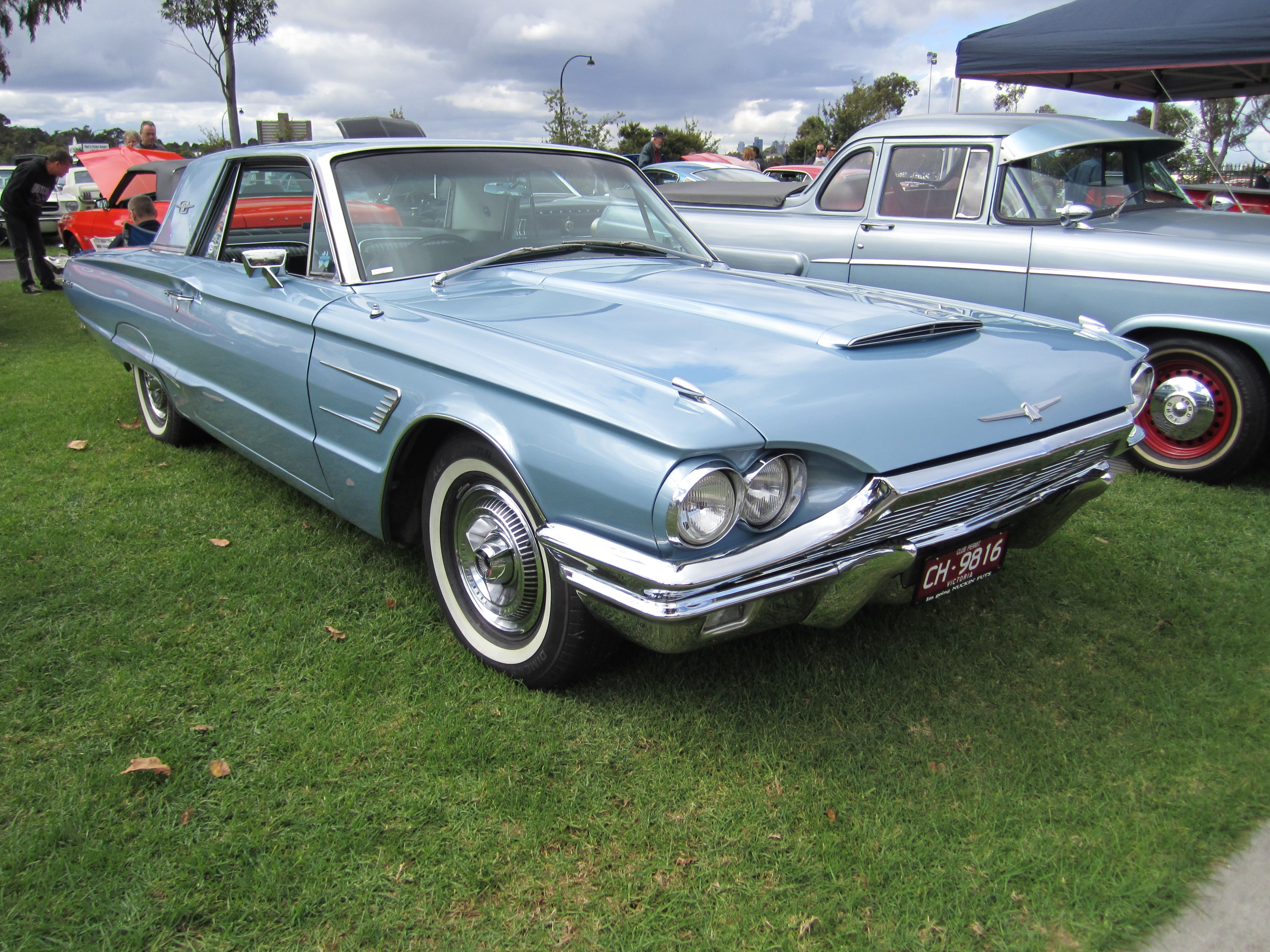 1965 Thunderbird hardtop. Have seen a couple of these on Craigslist ...