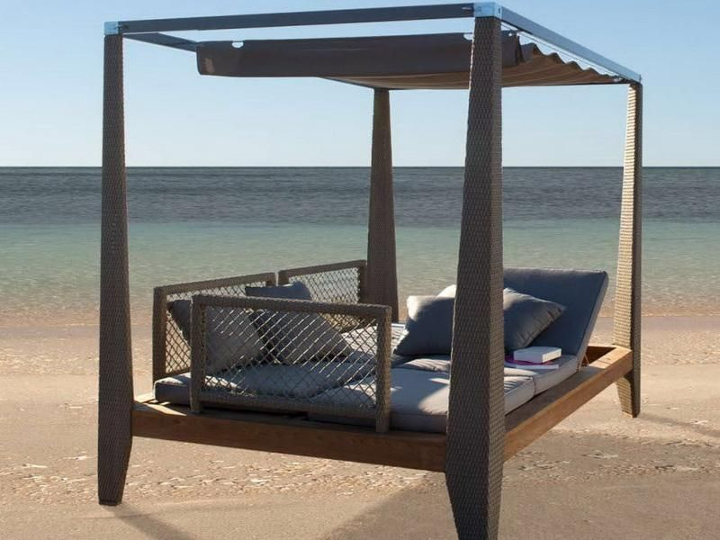 Beach-Canopy-Bed-Outdoor-Designjpg 800×600 pixels Outdoor Spaces - sillas de playa