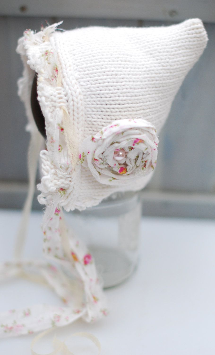 Upcycled Custom Shabby Chic Pixie Gnome Hat Photography Prop for ...