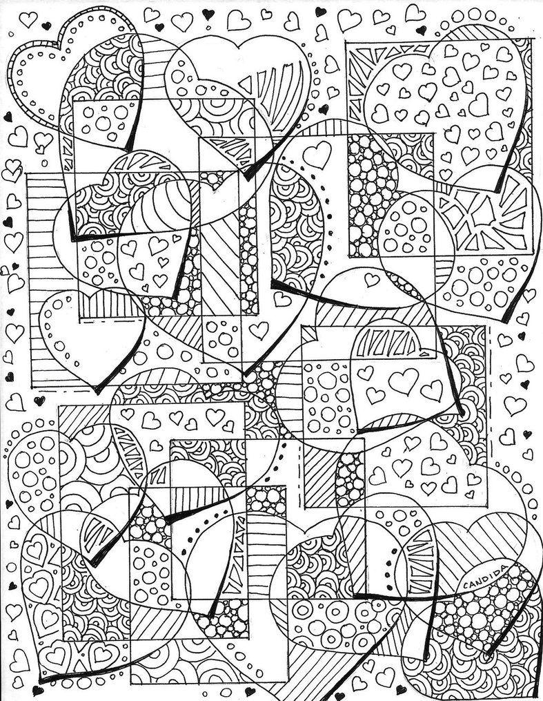 Scan by candidaartstudio Doodles u Zentangles Coloring