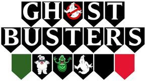photograph about Ghostbusters Logo Printable called Ghostbusters Printable 20-computer Flag Get together Banner Wrapper Mounted