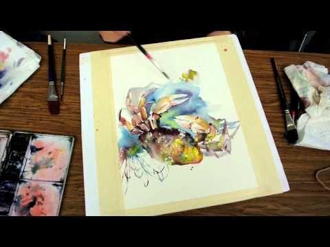 Lian Zhen Watercolor Artist Teacher Sitka Tenakee Hot Springs