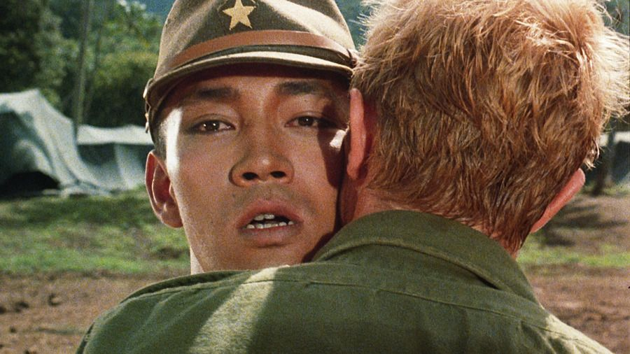Nagisa Oshima In Words And Images I Have No Way To Make Films Except By Examining The Japanese And Endeavoring Merry Christmas Mr Lawrence David Bowie Bowie