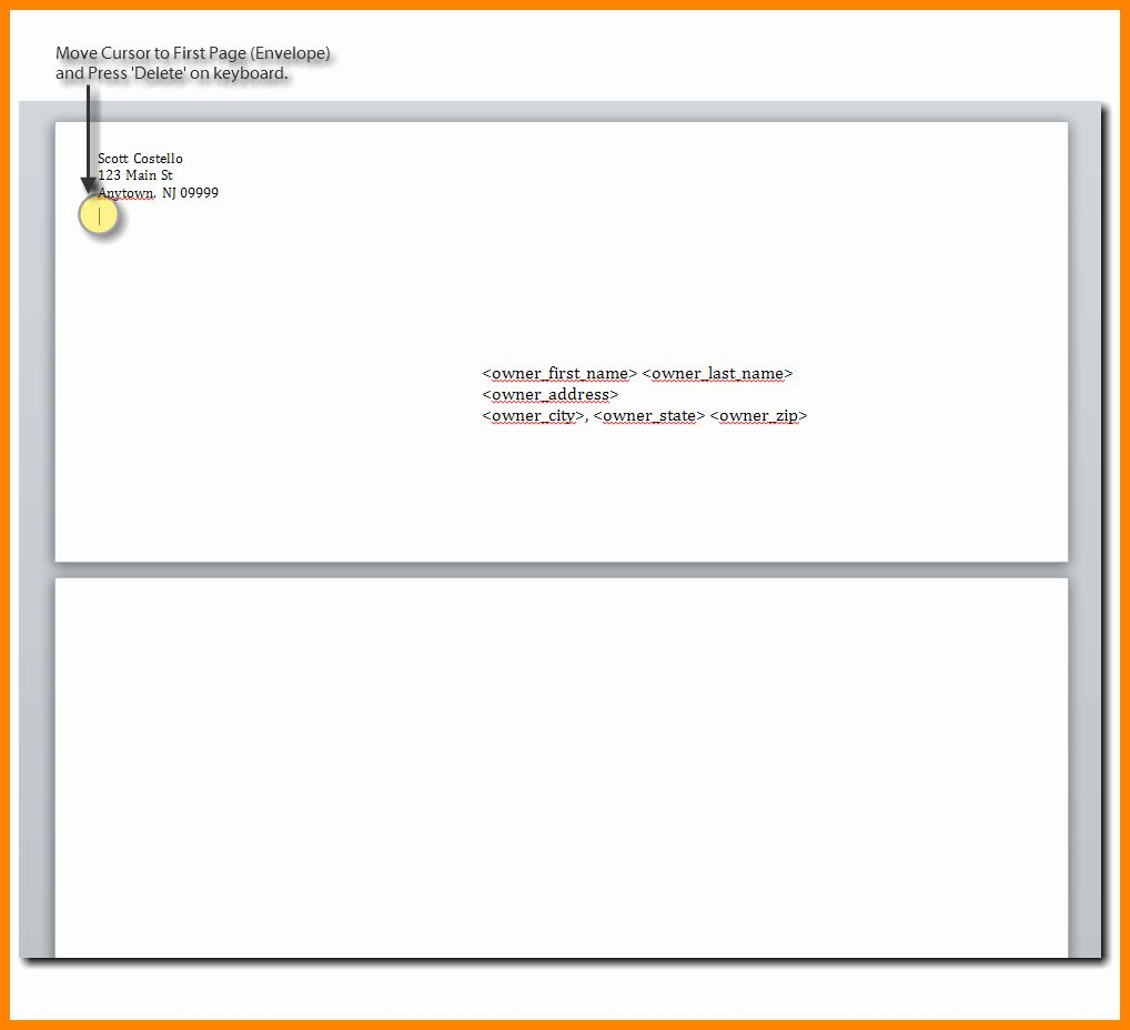 Format Of Letter Envelope from i.pinimg.com