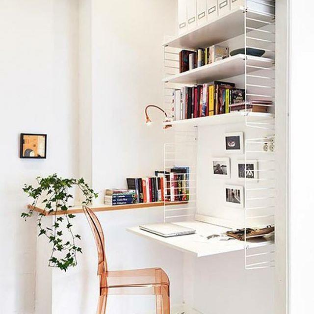 Hoy en el blog, mini espacios de trabajo en casa