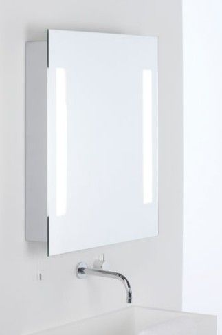 Aurora Technika Swietlna Podswietlane Lustro Lazienkowe Z Szafka Livorno Shaver Cena Bathroom Mirror Bathroom Medicine Cabinet Bathroom Lighting