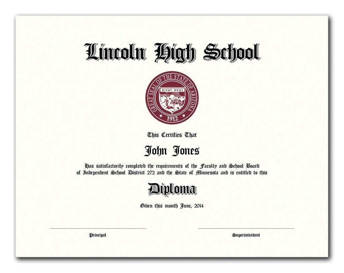 Custom Diploma