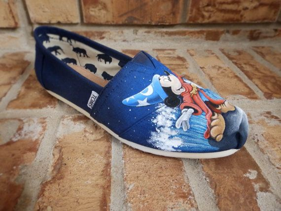 Disney's Sorcerer Mickey Mouse Toms Shoes