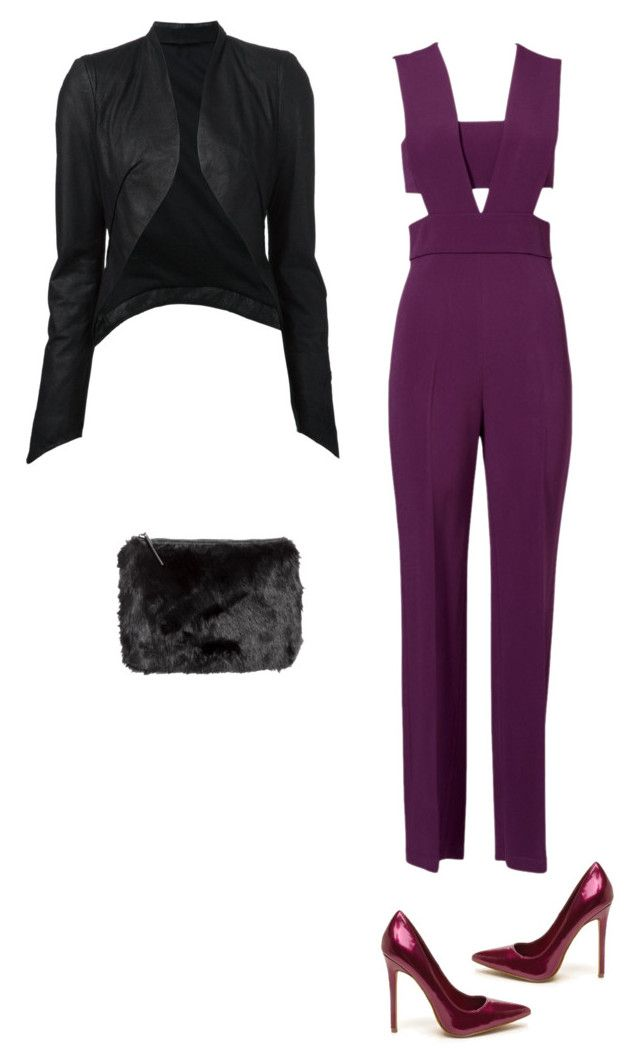"""""""Jumpsuit!"""" by princesaurbana ❤ liked on Polyvore featuring Cushnie Et Ochs, ISABEL BENENATO, H&M, women's clothing, women, female, woman, misses and juniors"""