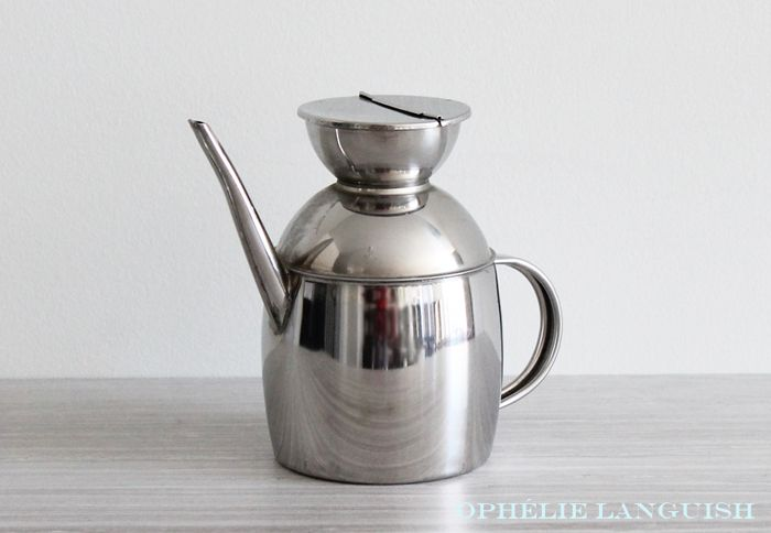 Vintage Ipac Italy Stainless Steel Olive Oil Dispenser Available At