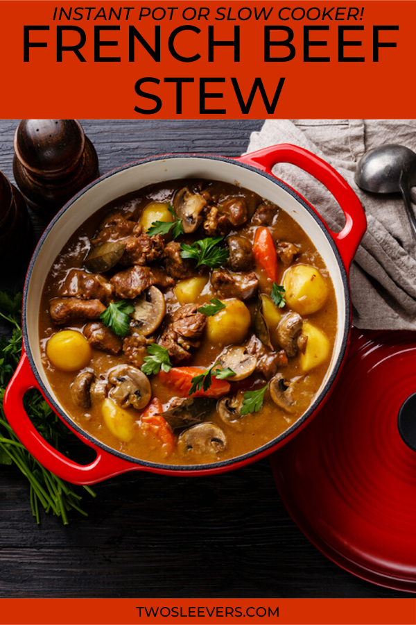 Beef Daube A Quick And Delicious French Beef Stew French Beef Stew Beef Stew Recipes Stove Top Dutch Oven Beef Stew Recipes