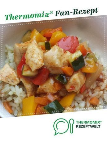 Photo of Chicken and vegetables sweet and sour