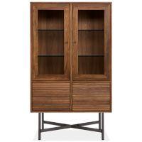 Adrian Glass Door Cabinet