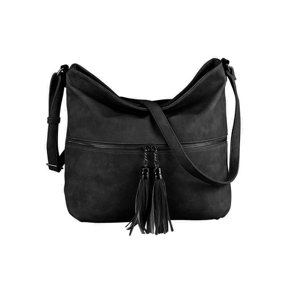 BOLSO DE MUJER CROSS-OVER-BODY-BAG SHOPPER Bolso bandolera CUERO look: …
