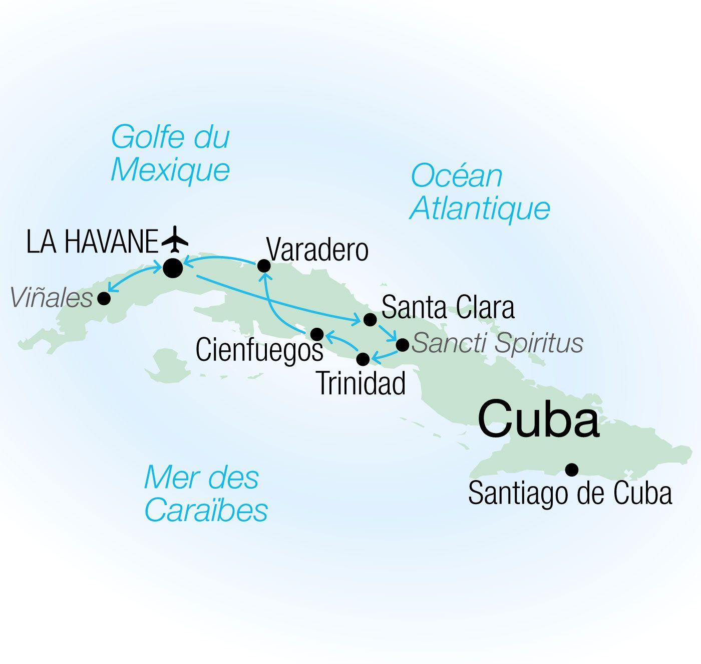 transar €190 Cuba : carte et plans | idées voyage | Pinterest | Voyage