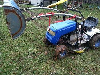 Lawn · Mtd Lawn Tractor Front End Loader Build