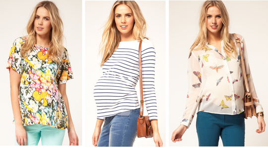 Different sites for the cutest maternity clothes