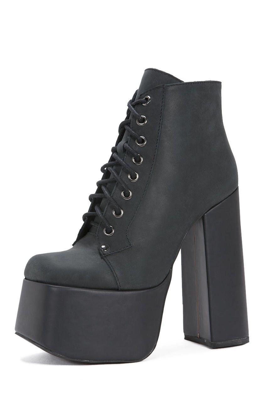 bcb815cbddc Jeffrey Campbell Shoes GOTHAM New Arrivals in Black Washed ...