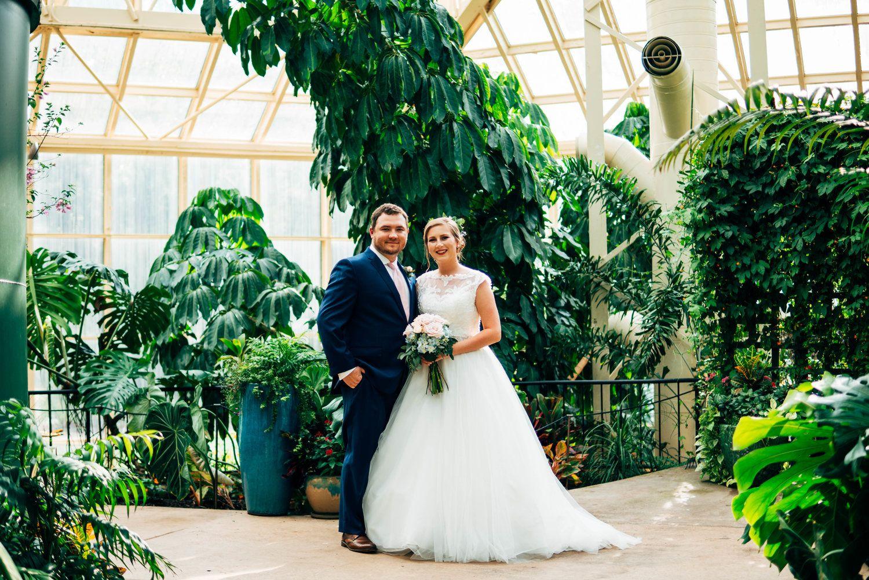 Callaway Gardens Butterfly Garden Greenhouse Wedding