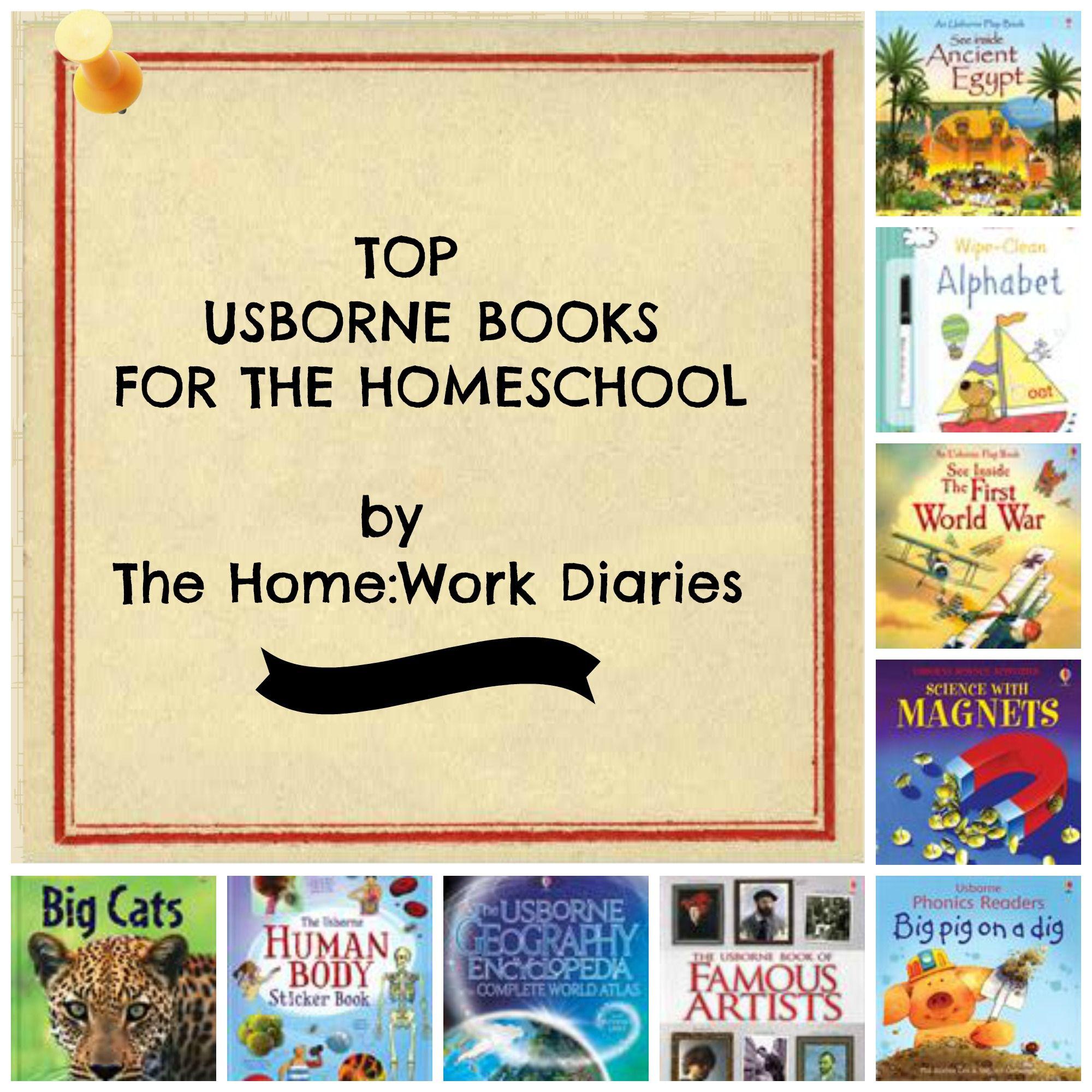 Top Usborne Books for the Homeschool www.readwithme.xyz