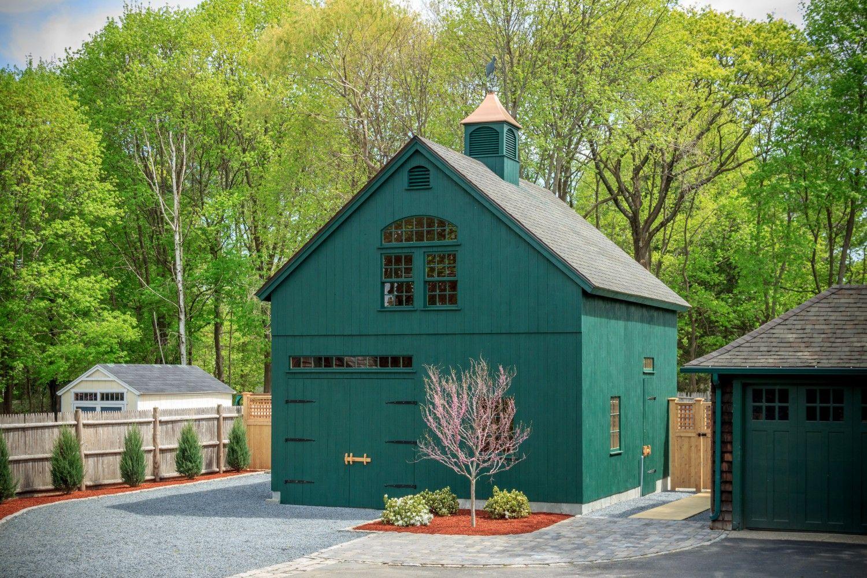 Carriage Barn: Post and Beam 2-Story Barn: The Barn Yard ...