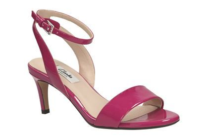 utterly stylish new arrive casual shoes Clarks Amali Jewel - Fuchsia - Womens Smart Sandals | Clarks ...
