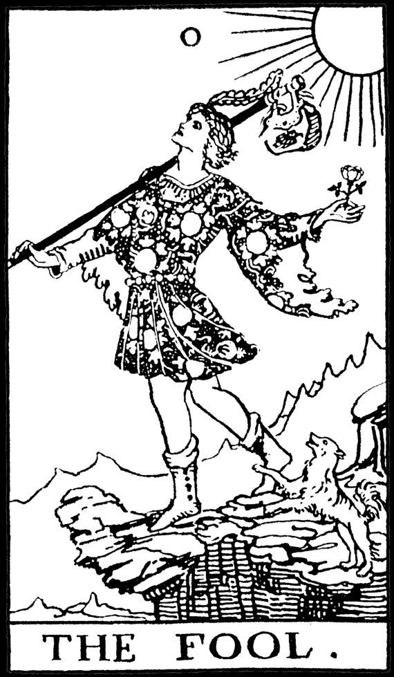 Draw Tarot Card: Rider Waite Tarot Black And White - Google Search