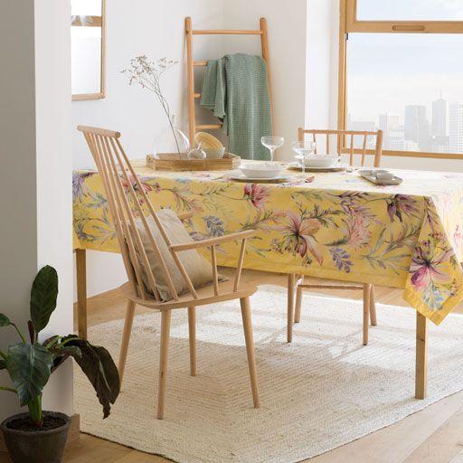 Toalha de Mesa Estampado Flor (Easy Care)