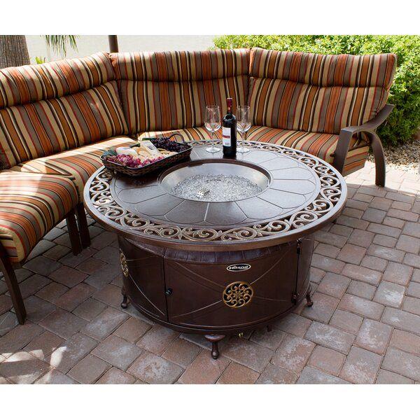 Belham Living Richland 48 Diam Decorative Scroll Fire Table Vozeli Com