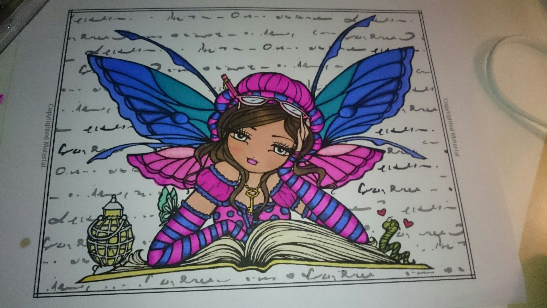 Elf,fairy, coloring page | colored coloring page\'s | Pinterest